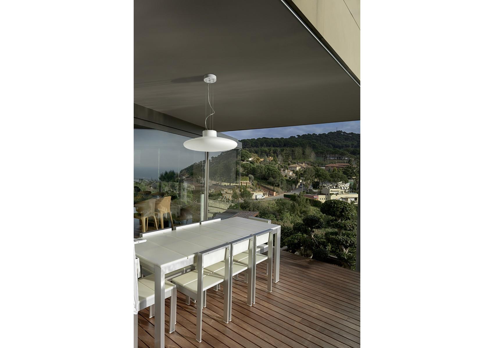 suspension de jardin kap r glable en hauteur de chez leds c4. Black Bedroom Furniture Sets. Home Design Ideas