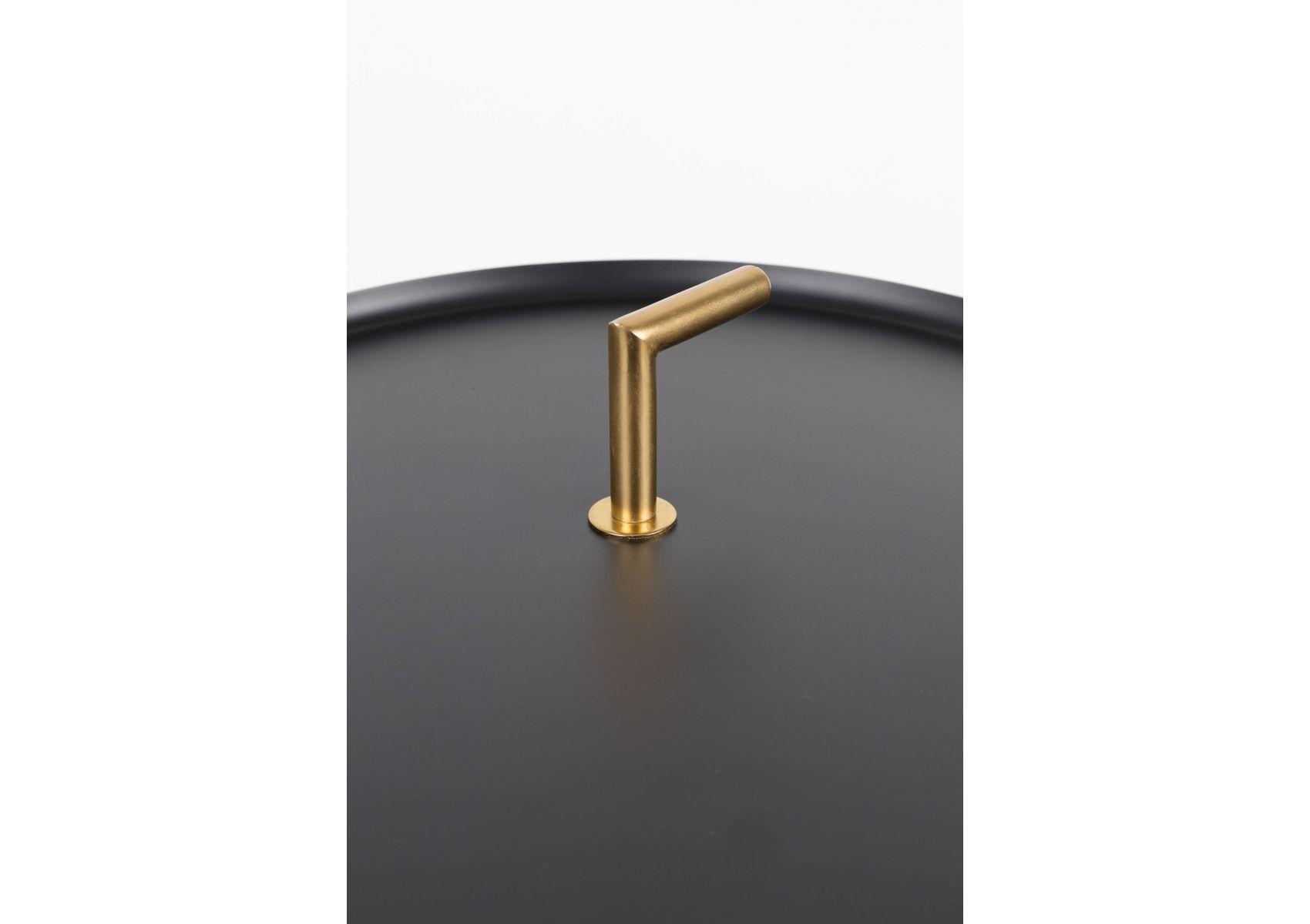 table d 39 appoint m tal et laiton rumbi boite design. Black Bedroom Furniture Sets. Home Design Ideas