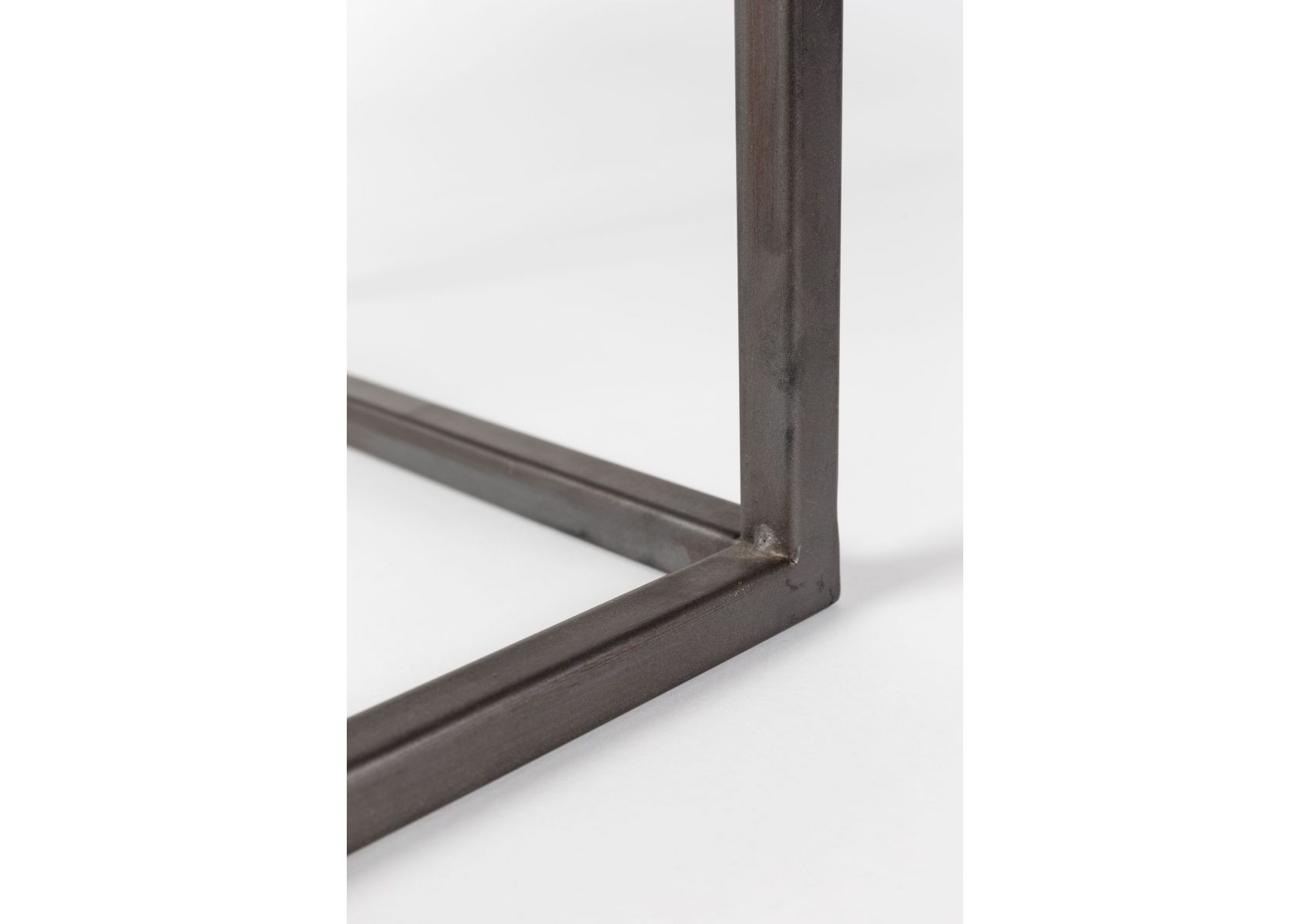 table basse gigogne industrielle bois et m tal joy boite design. Black Bedroom Furniture Sets. Home Design Ideas