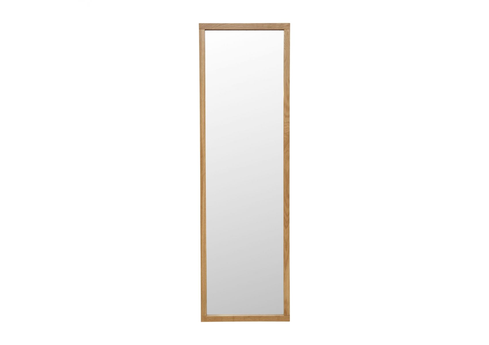 Miroir scandinave sur pied en bois newest de chez woodman for Miroir bois design