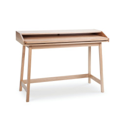 Bureau scandinave en bois coulissant St James - Woodman