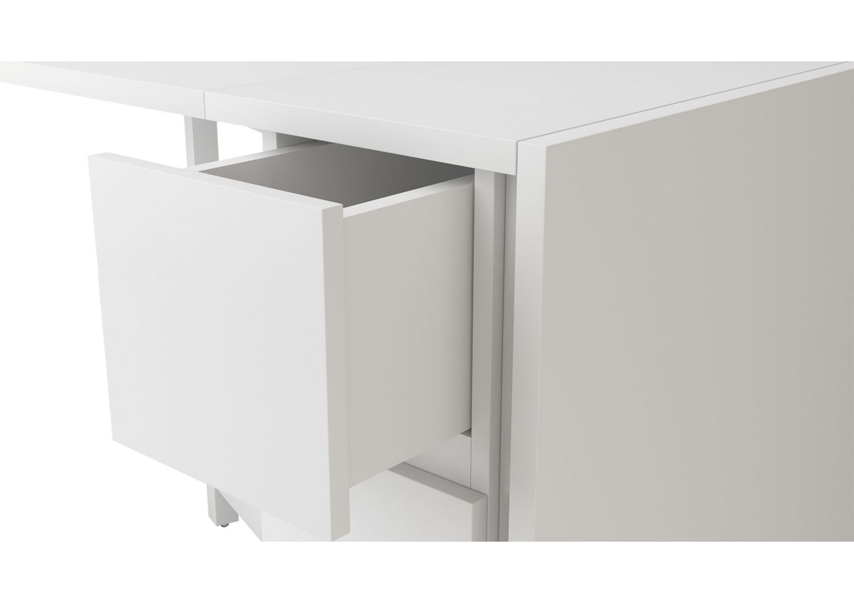 table console pliante kungla de chez woodman. Black Bedroom Furniture Sets. Home Design Ideas