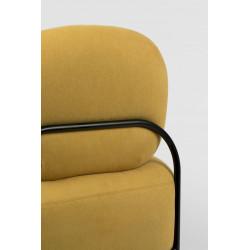 Fauteuil design en tissu Polly - Boite à design