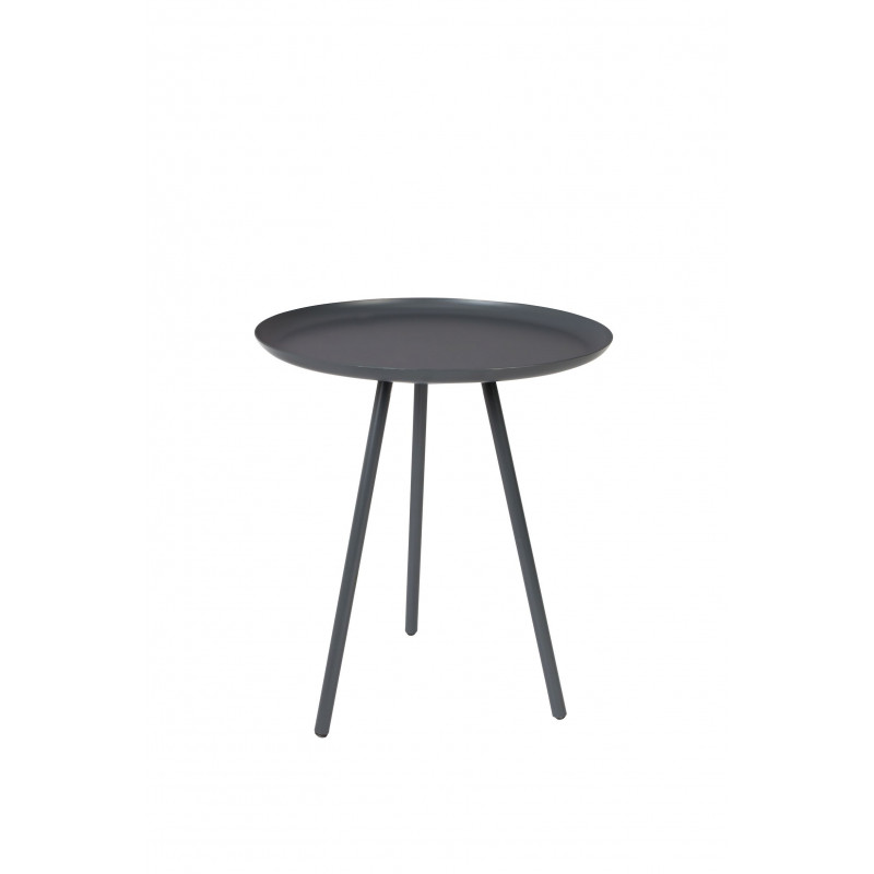 Table d'appoint design Frost trépied métal