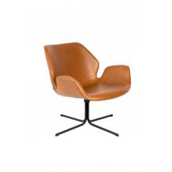Chaise de salon pivotante Nikki - Zuiver
