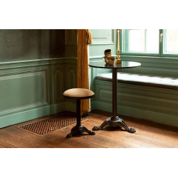 Table de bistrot marbre Mezza - Dutchbone