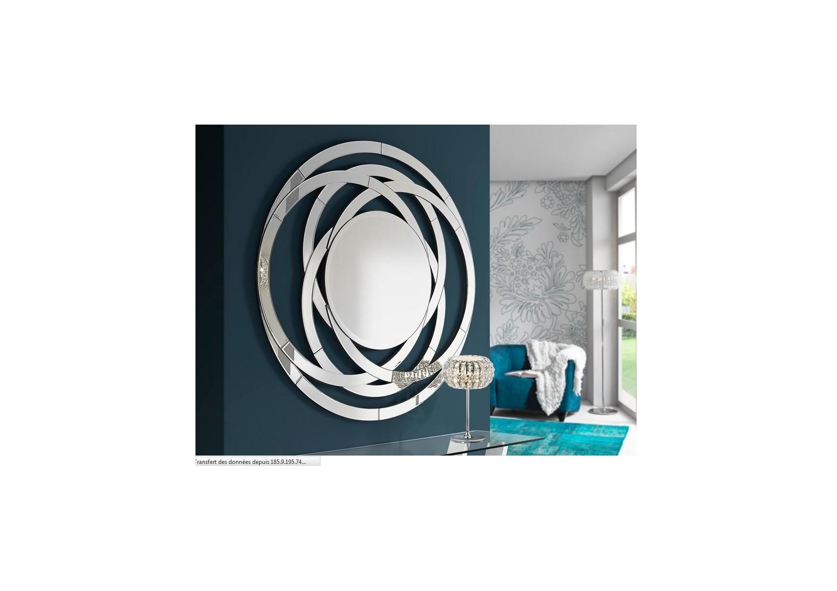 Miroir rond design de la collection aros de chez schuller for Miroir de la tauromachie