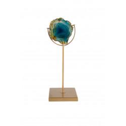 Bougeoir pierre d'agate GEM - Dutchbone