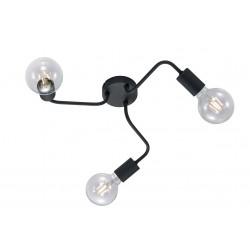 Plafonnier en métal 3 lampes DIALLO
