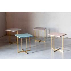 Table d'appoint en terrazzo carré - LUIGI