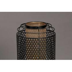 Lampadaire tubulaire en métal perforé Dutchbone - ARCHER