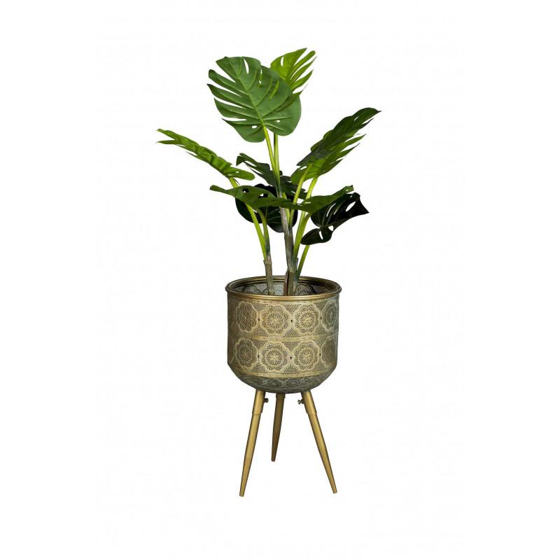 Jardinière bohème en métal Dutchbone - BOTANIQUE