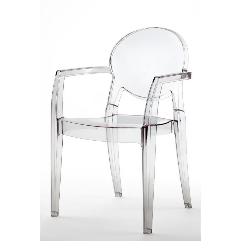 Chaise igloo design avec accoudoirs par SCAB design