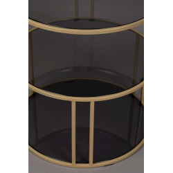 Table d'appoint vintage 3 plateaux Dutchone - TORN