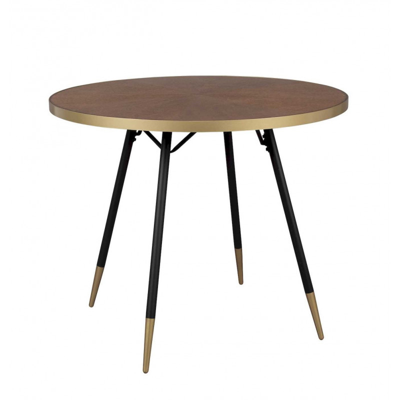 Table A Manger Vintage.Table A Manger Vintage Ronde 91 Cm Denise
