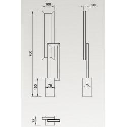 Lampe design led MURAL - Mantra