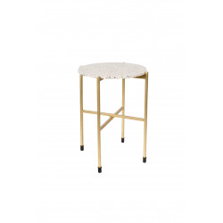Table d'appoint terrazzo Mario