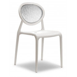 6 Chaises design - SUPER GIO - Lot de 6 - déco