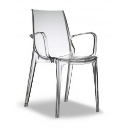 Chaise design VANITY avec accoudoirs par Scab