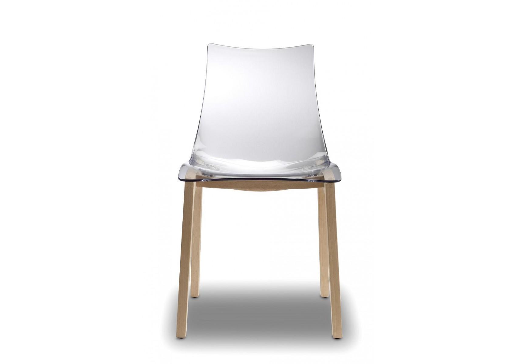 Chaise transparente design natural zebra par scab design - Chaise transparente design ...