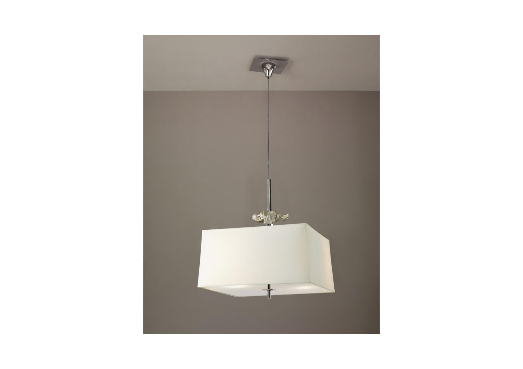 suspension chrome akira 4l mantra boite design. Black Bedroom Furniture Sets. Home Design Ideas