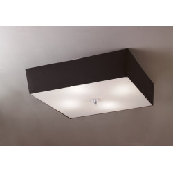 plafonnier design abat jour akira mantra boite design. Black Bedroom Furniture Sets. Home Design Ideas