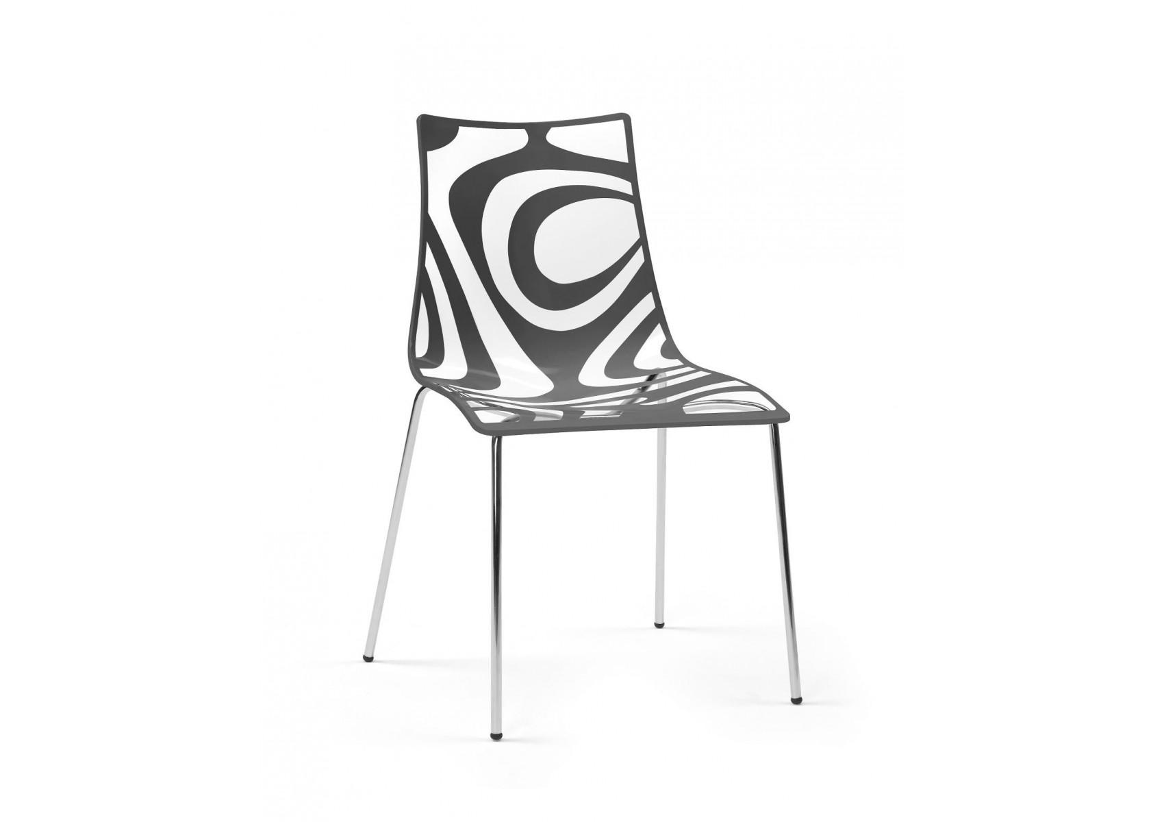 Chaise design WAVE par Scab design - Boite à design