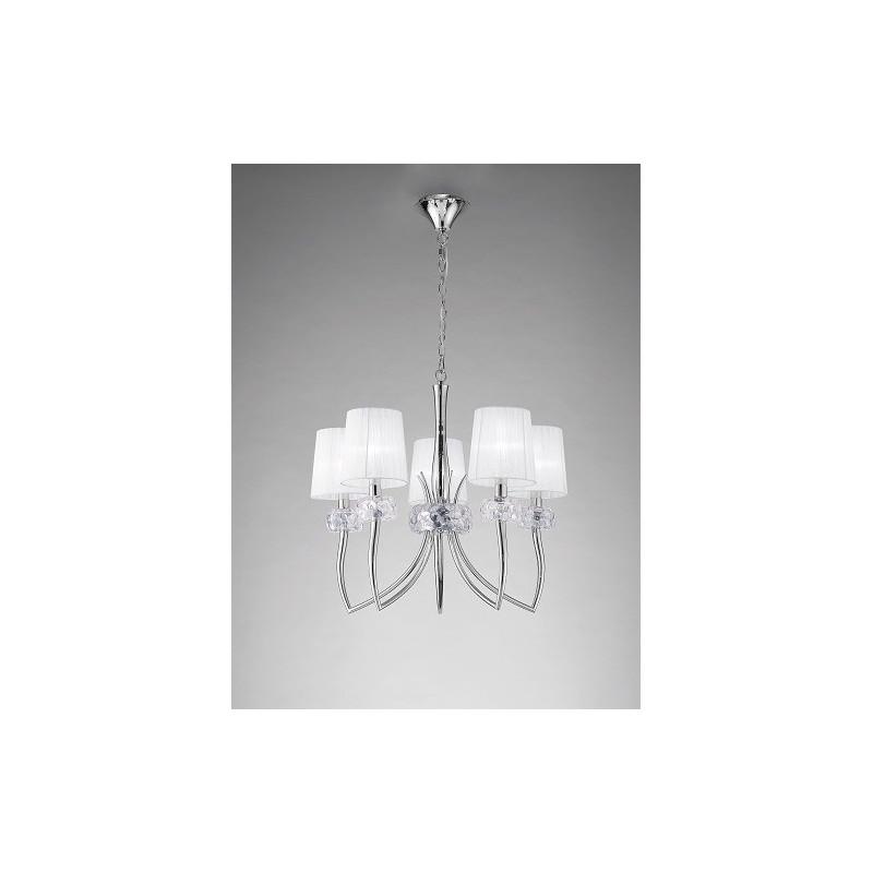 grande suspension design loewe 5 lampes boite design. Black Bedroom Furniture Sets. Home Design Ideas
