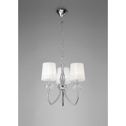 Suspension design Loewe 3 Lampes