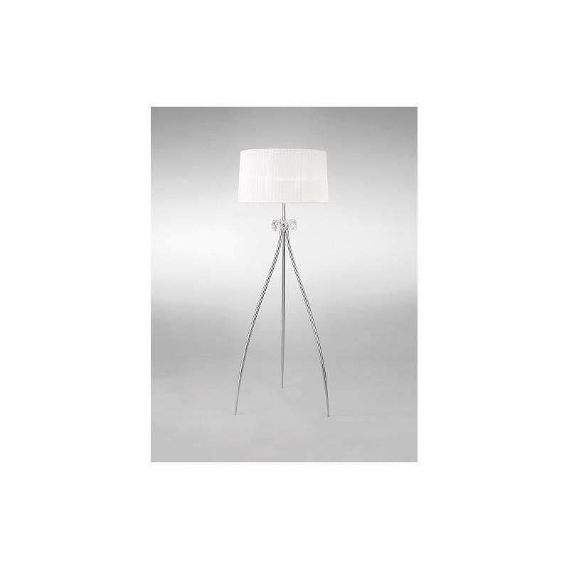 Lampadaire classique Loewe trois lampes