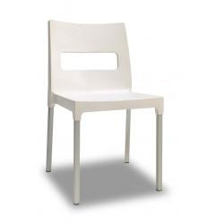 4 Chaises design de jardin - MAXI DIVA - Lot de 4 - deco