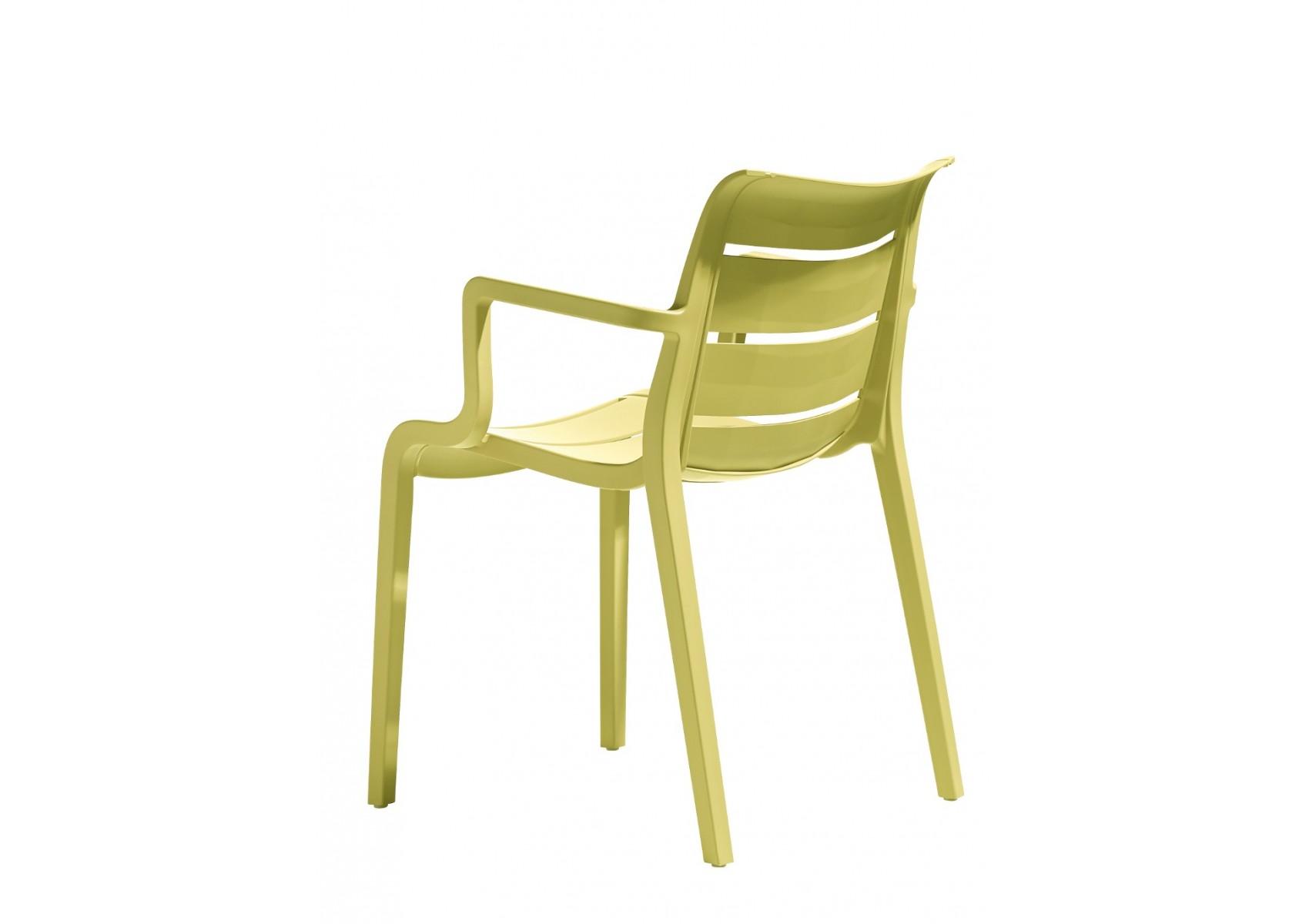 4 chaises design de jardin sunset lot de 4 deco - Lot de 4 chaises design ...