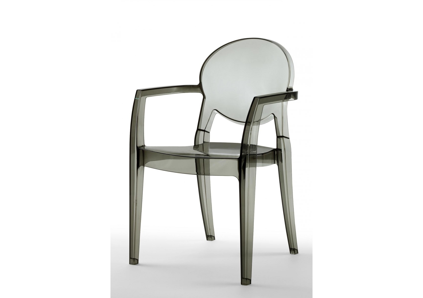 Chaises design avec accoudoirs igloo lot de 6 deco for Lot de 6 chaises design