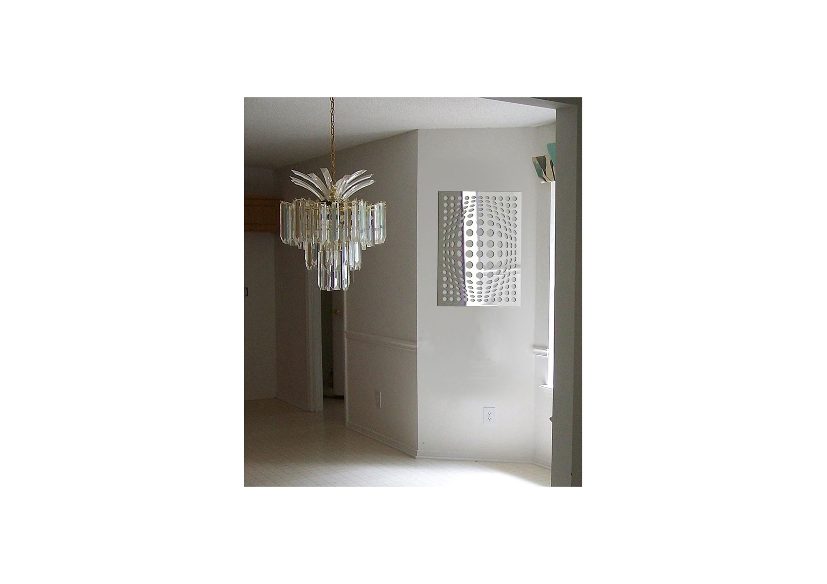 Miroir design illusion de bulles boite design for Design miroir
