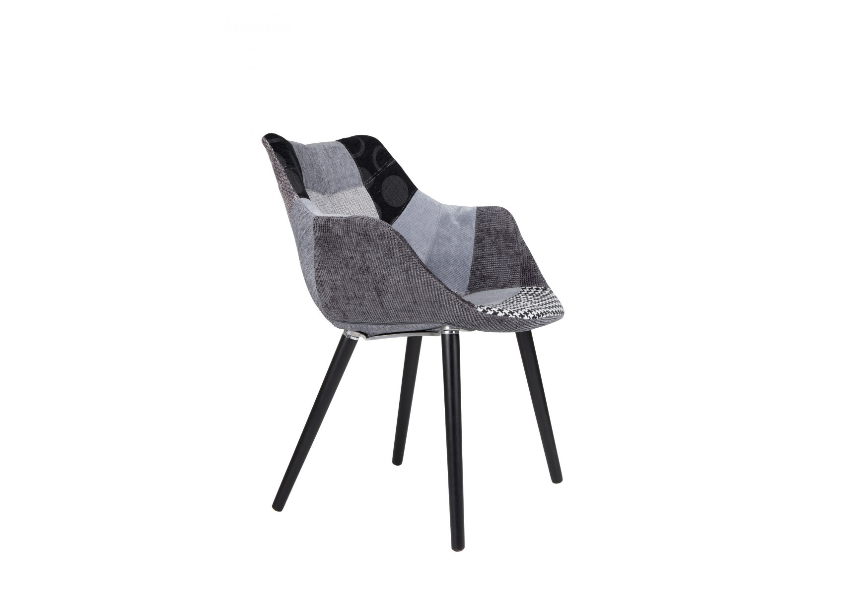 Chaise design twelve patchwork deco originale chaise for Chaise zuiver