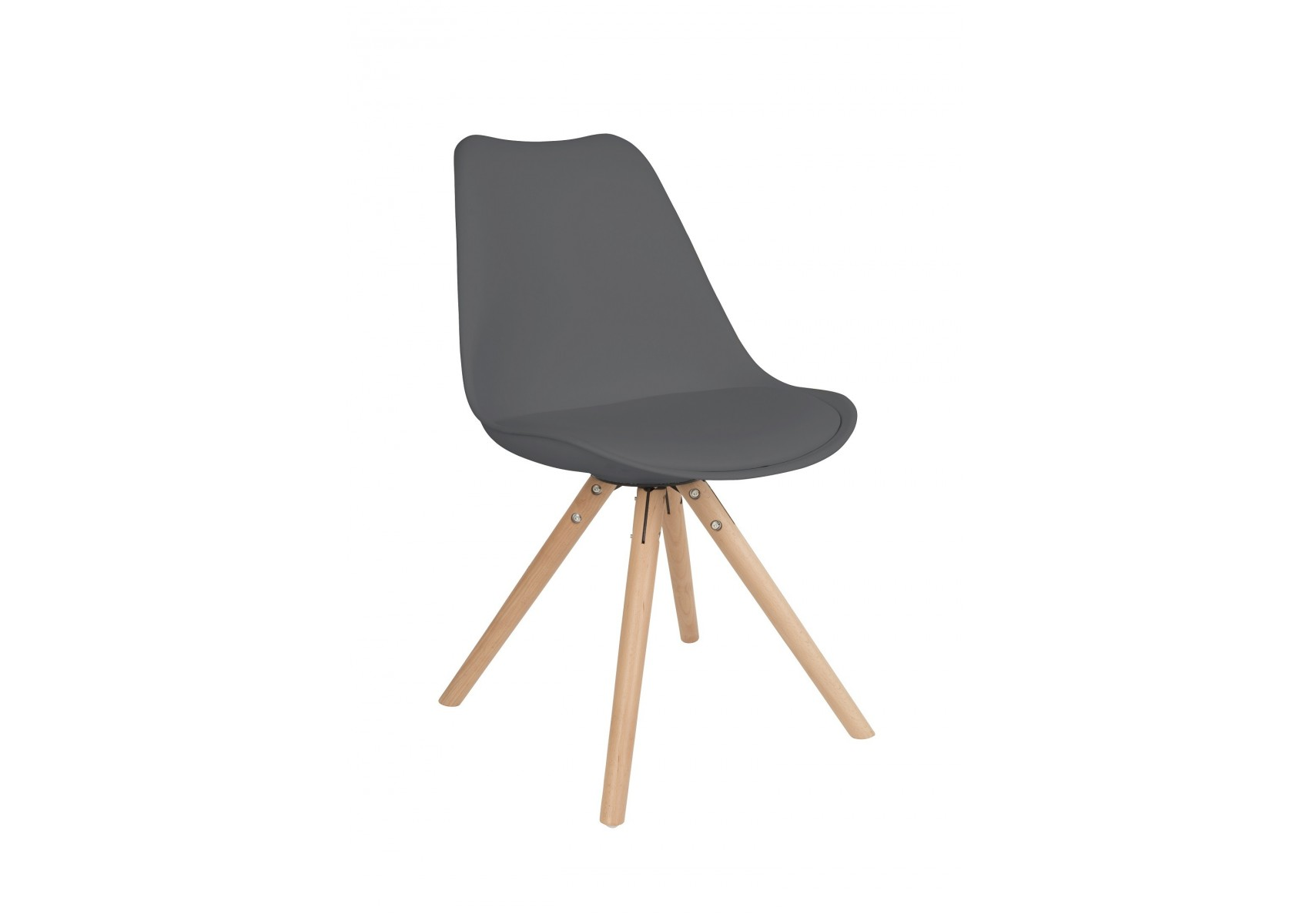 Chaise scandinave tryck pied bois for Chaise scandinave design