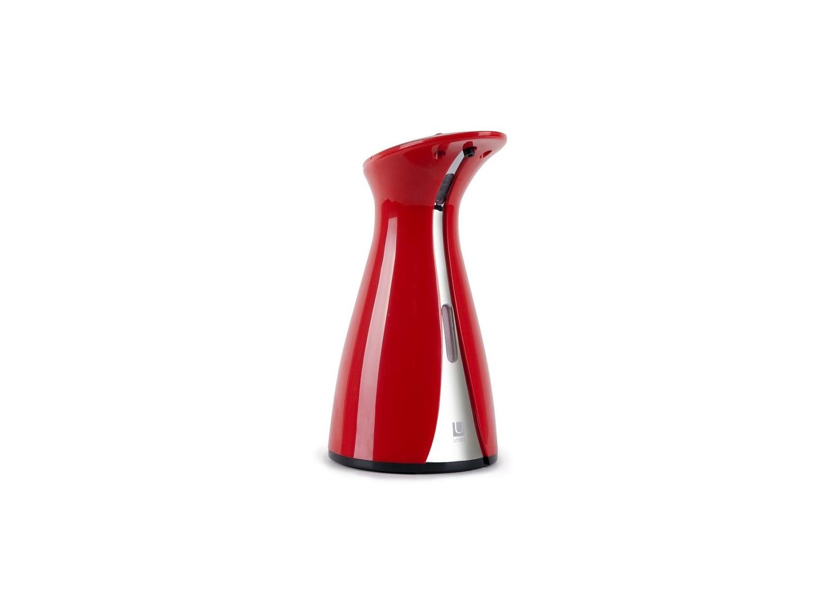 distributeur de savon automatique design pump otino rouge boite design. Black Bedroom Furniture Sets. Home Design Ideas