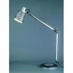 Lampe de bureau Casting2 design et son étau d'accroche