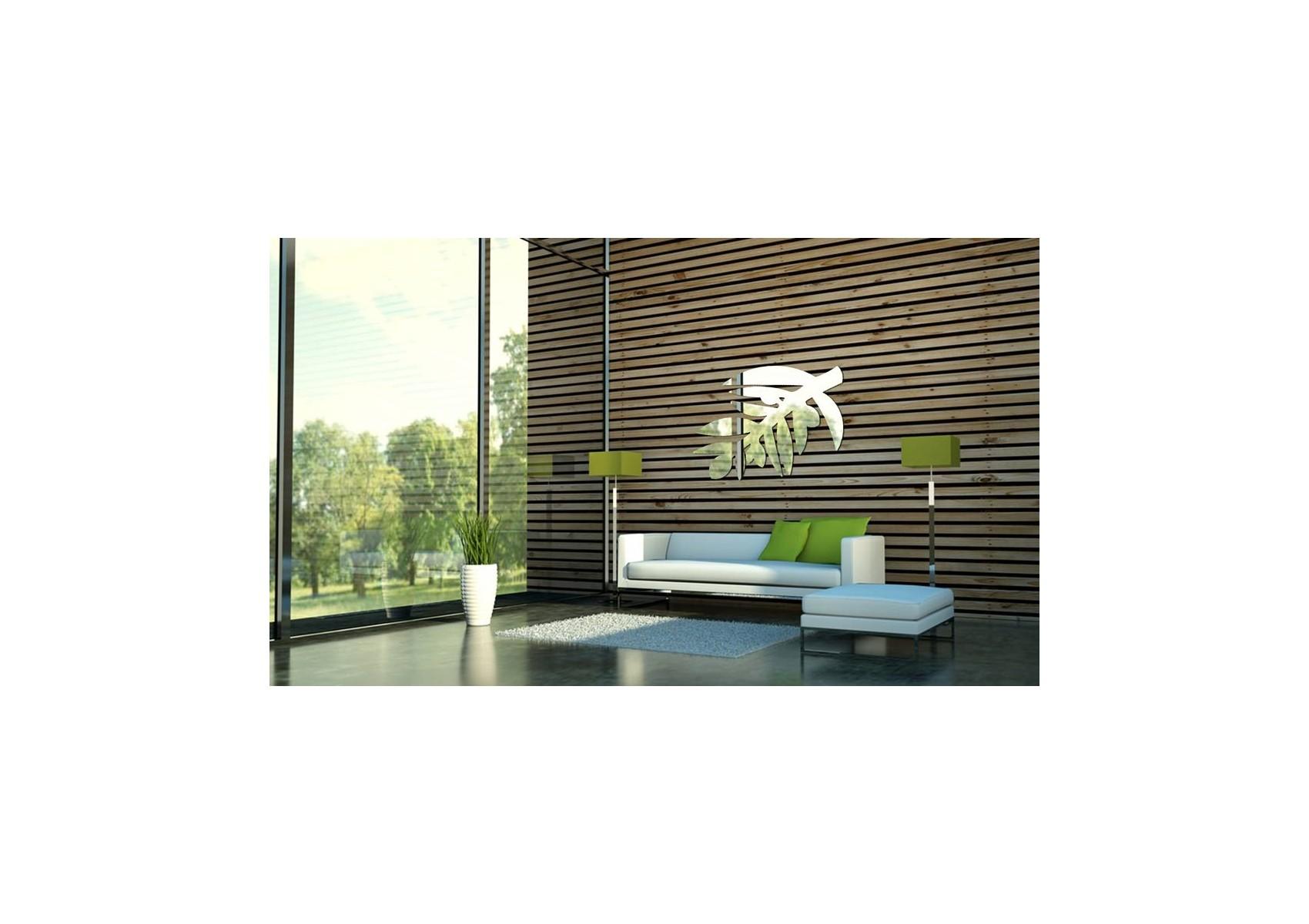 Miroir rameau d'olivier - design deco