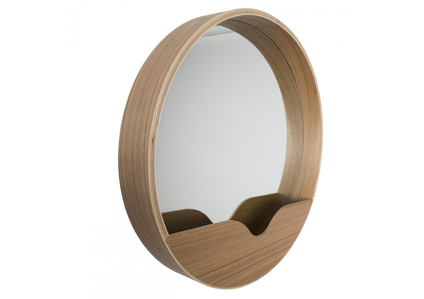 Miroir round wall zuiver for Miroir zuiver