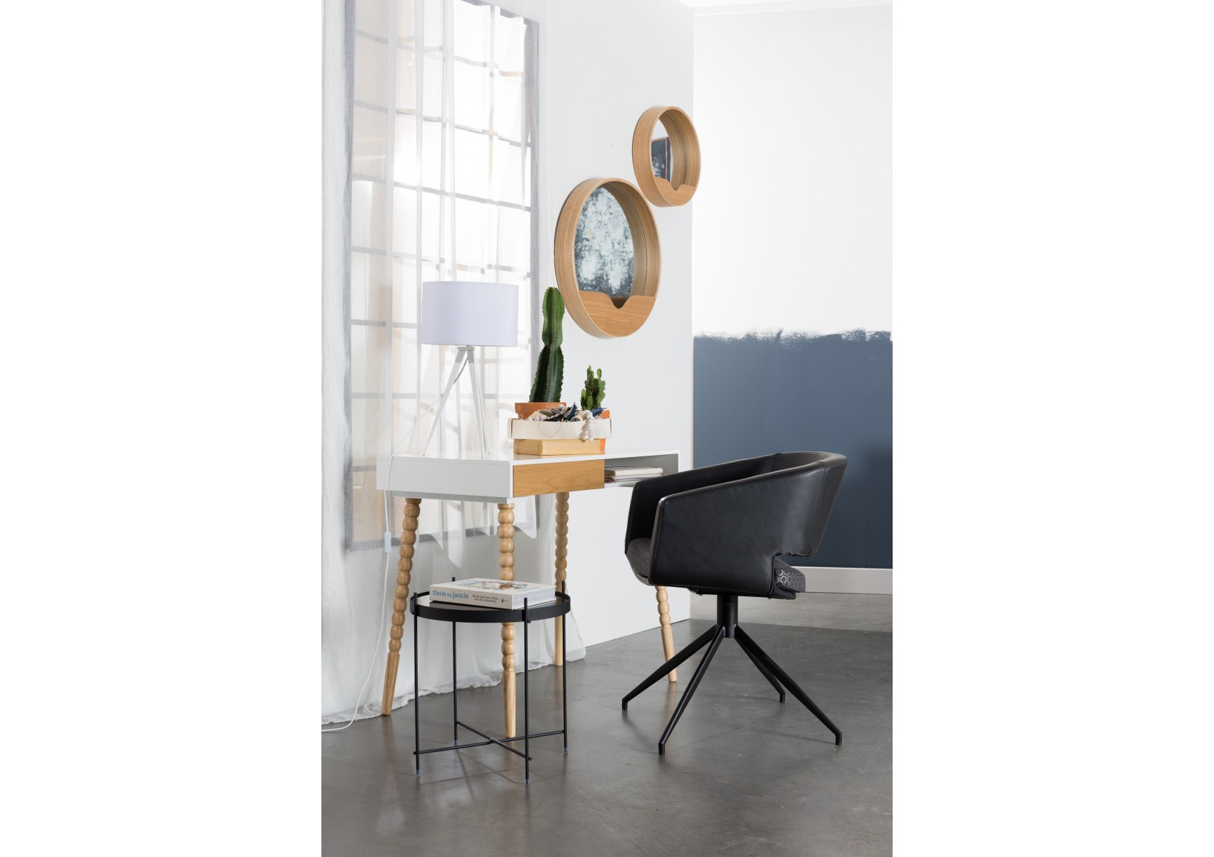 Miroir ROUND WALL Boite à design