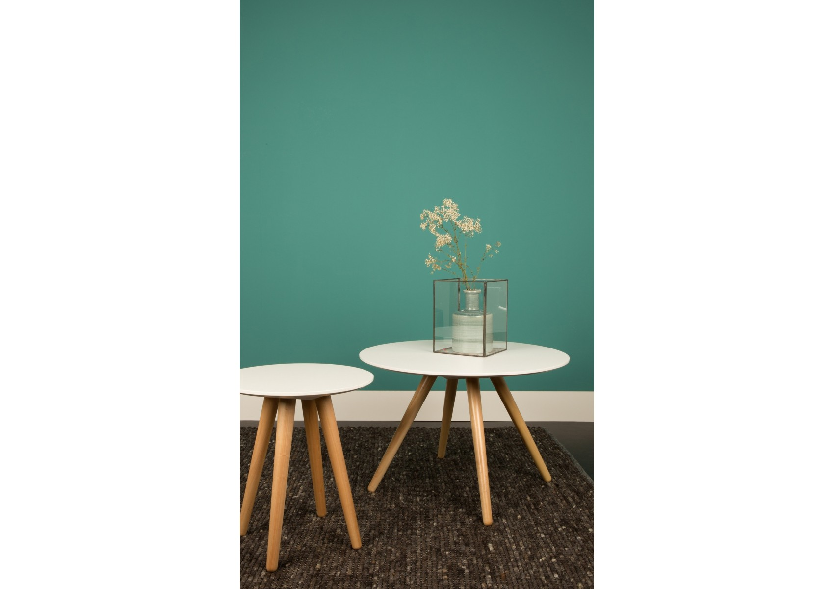 Table basse bee 45x50 design zuiver boite design - Table basse miroir design ...