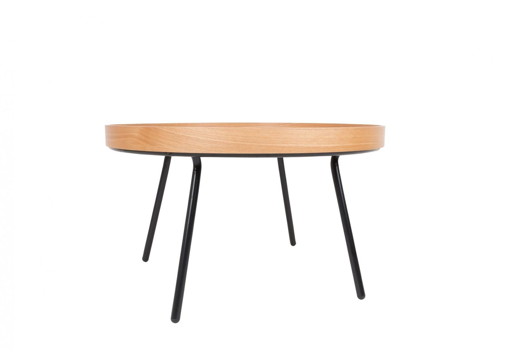 Table basse oak tray plateau mobile design boite - Table basse baroque design ...