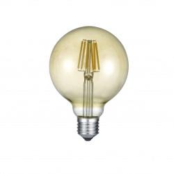 Ampoule globe LED E27 Déco filament 600 lm 6W