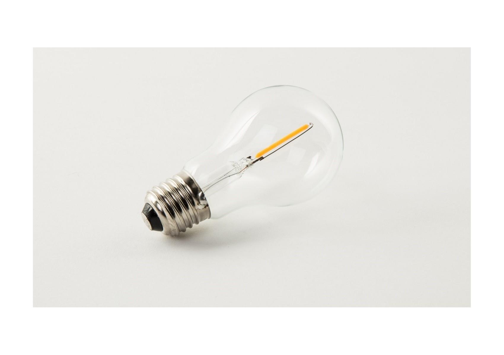 2 ampoules classiques led e27 d coratives par filament. Black Bedroom Furniture Sets. Home Design Ideas