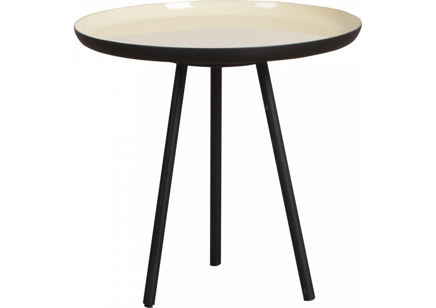 3 tables basses enamel en 3 couleurs pastel design for Table basse scandinave couleur