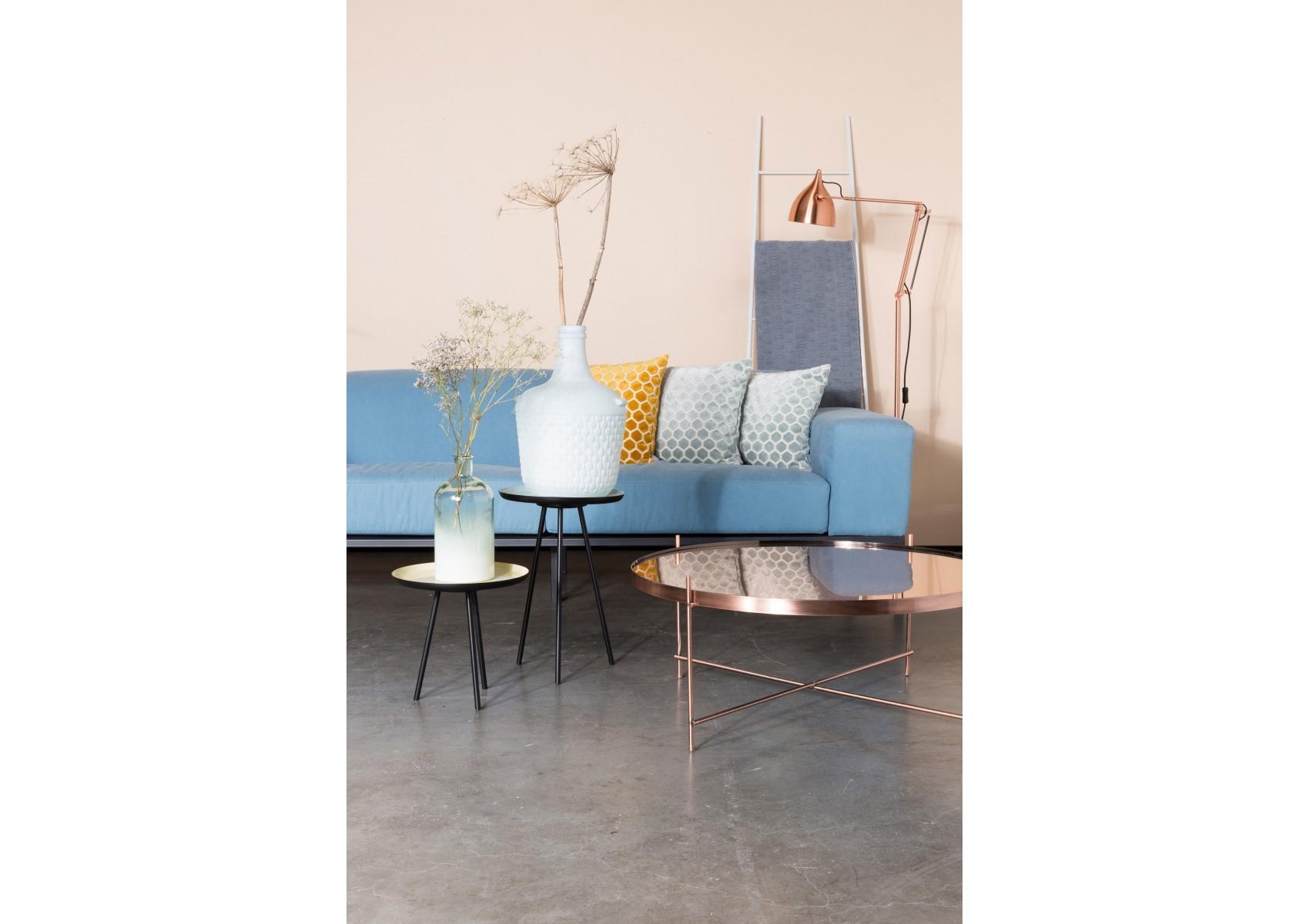 3 tables basses r tro enamel couleurs pastel par zuiver. Black Bedroom Furniture Sets. Home Design Ideas