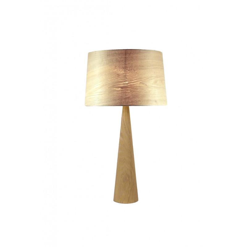 Lampe à poser Totem LT en bois naturel Aluminor