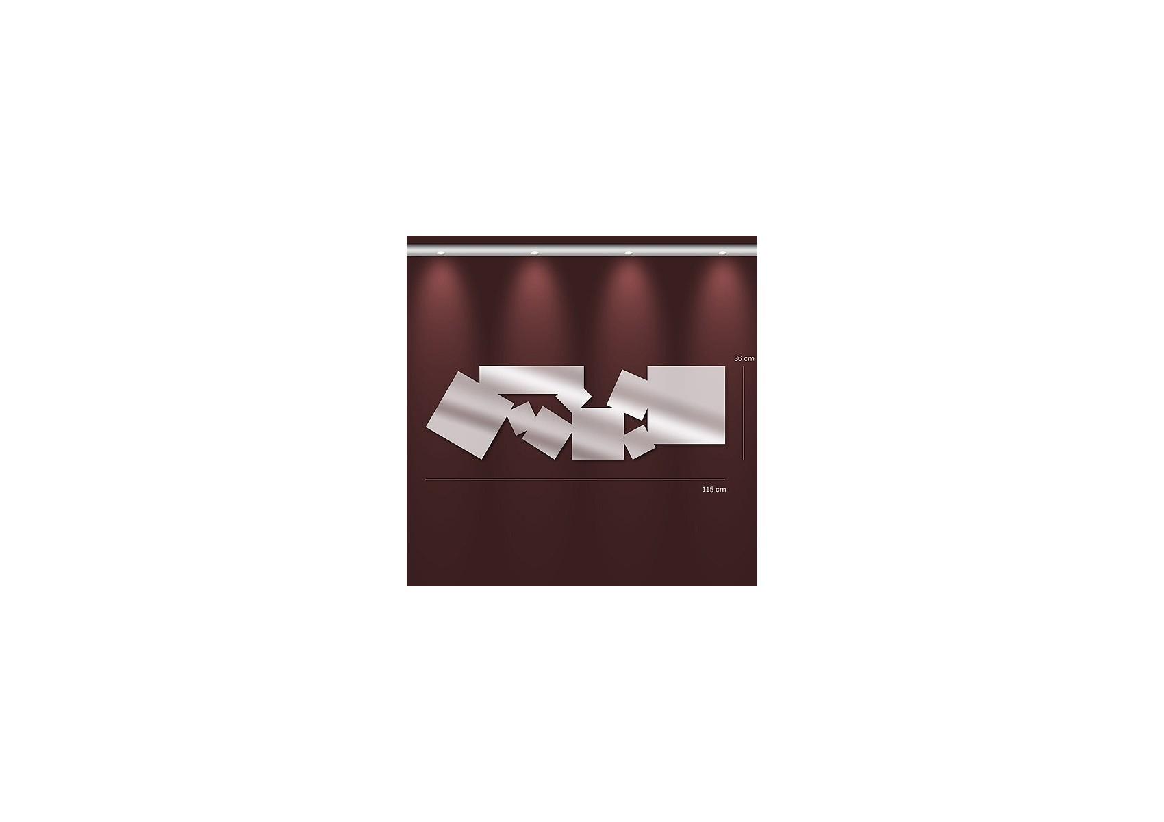 Miroir carr s design allong s boite design for Design miroir