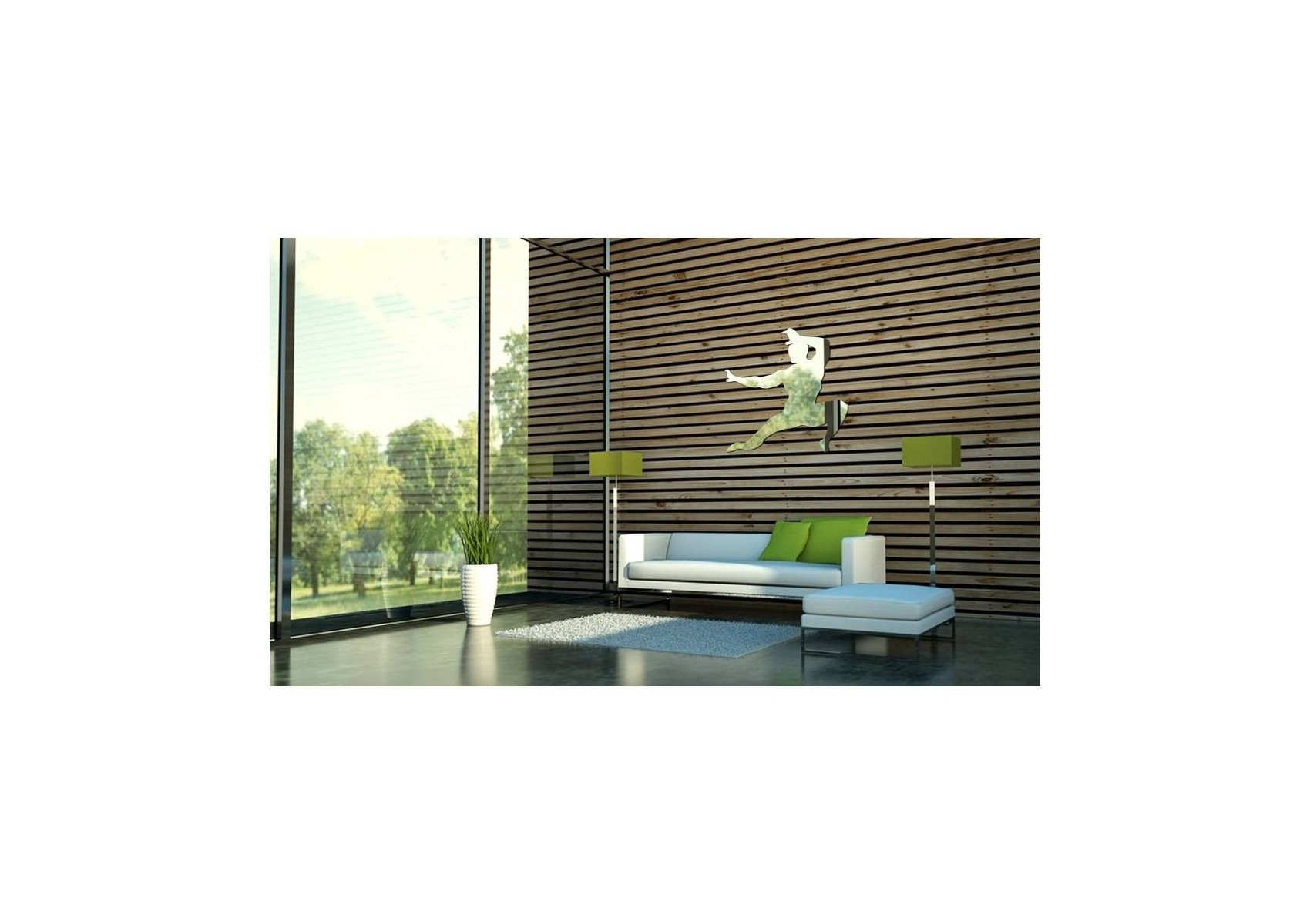 Miroir design karateka boite design for Architecture miroir